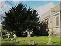NY9538 : The churchyard, Eastgate by Mike Quinn