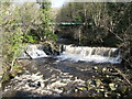 NY9538 : Waterfalls on Rookhope Burn by Mike Quinn