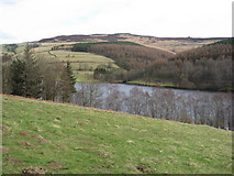 SK1887 : Hurst Clough Car Park - View across Ladybower Reservoir by Alan Heardman