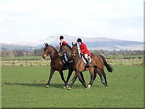 SD6074 : Huntsmen retrieve racehorse by William Bartlett