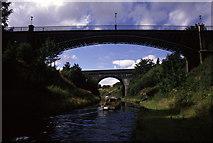SP0189 : Galton Bridge. by Chris Allen