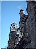 NS5565 : Pearce Institute Clock by Lynn M Reid