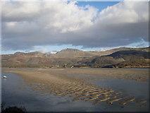 SH6215 : Mawddach Estuary with Tyrrau Mawr and Cader Idris distant by David Bowen