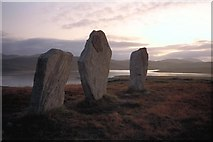 NB2133 : The West Row at Callanish by Philip
