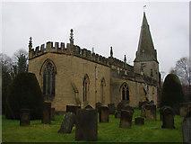 SK2572 : Baslow & Bubnell Parish Church by Bill Henderson