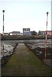 SN4562 : Aberaeron Harbour slipway by Bob Jones