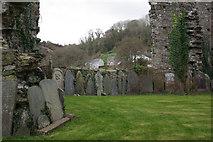 SN1645 : St Dogmaels Churchyard by Stephen McKay
