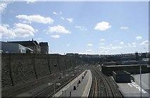 SE1632 : View from Croft Street bridge. by Betty Longbottom