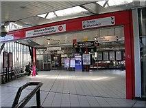 SE1632 : Entrance to Bradford Interchange Rail Station by Betty Longbottom
