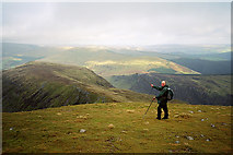 SH7313 : Mynydd Moel, north-east shoulder by David Travers