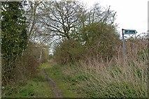 TQ5683 : Footpath 259 by Glyn Baker