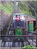 SS7249 : Lynmouth to Lynton Cliff Railway by John Sparshatt