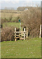 SS8678 : Stile south east of Tythegston by eswales