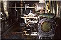 SE2045 : Steam engine, Barker's Tannery, Otley by Chris Allen