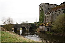 N3335 : Bridge and old mill by kevin higgins