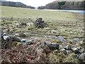 NN8759 : Cairn beside Loch Tummel by Russel Wills