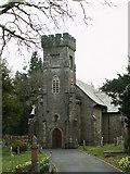 SN7673 : Hafod Church by John Fielding