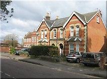 SU6351 : Fine houses in Fairfields Road by Sandy B