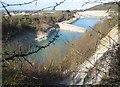 SU7599 : Chinnor: Flooded chalk quarry & SSSI by Nigel Cox