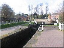 SJ2207 : Restored lock on Montgomery Canal by John Firth