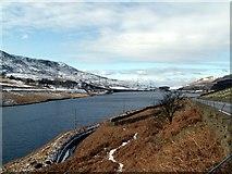 SK1099 : The eastern end of  Woodhead Reservoir by John Fielding