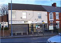 TA0831 : Rhema Youth Works, Newland Avenue, Hull by Peter Church