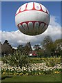 SZ0891 : Bournemouth: the tethered balloon by Chris Downer