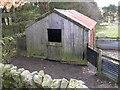 NY8793 : Tin Lambing Shed by Iain Lees