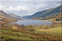 NN4719 : Loch Doine and Loch Voil by Dr Richard Murray