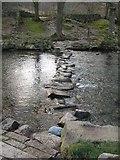 NY1700 : Stepping stones, River Esk by Callum Black