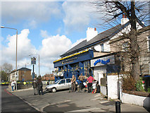 TQ4077 : Band outside a pub by Stephen Craven