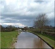 SJ6541 : Shropshire Union Canal at Coxbank by Margaret Sutton