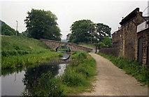 SE0424 : Longbottom Bridge 4, Rochdale Canal by Dr Neil Clifton