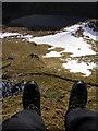 NN2208 : Having a Dangle over Loch Restil by Iain Lees
