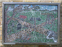 TL4658 : Mosaic, PACT Millennium Garden by Keith Edkins