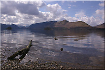 NY2622 : Looking across Derwent Water by Ian Capper