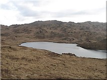 NR6595 : Loch Doire na h-Achlaise by Richard Webb