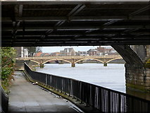 NS3421 : River Ayr Bridges by david johnston