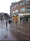 TA2609 : A Wet Day on Old Market Place by David Wright