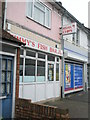 SU6501 : Jimmy's Fish Bar in New Road by Basher Eyre