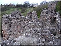 NT9953 : Berwick Castle by Euan Nelson