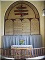 TG4426 : Chancel, St John's Church, Waxham by Maigheach-gheal