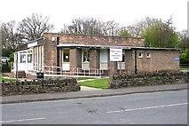 SE1527 : Wyke Library - Huddersfield Road by Betty Longbottom