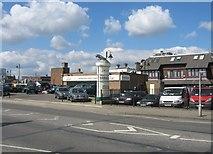 SU6351 : Jaguar sales forecourt - New Road by Sandy B