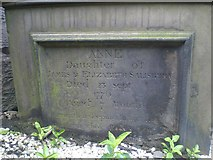 NT2674 : Sunken Gravestone by Lyn Anderson