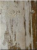 TG0600 : St Botolph's church - graffiti by Evelyn Simak