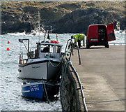 C0437 : Port na Blagh harbour by Rossographer