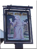TM4599 : Sign for the Bell Inn, St Olaves by Maigheach-gheal