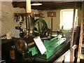NY5526 : Steam Engine at Wetheriggs Pottery by Jeff Tomlinson