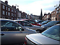 NZ3769 : On-street parking, Tynemouth by michael ely